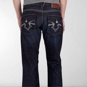 Buckle Big Star Orion Slim Bootcut Dark Wash Jeans